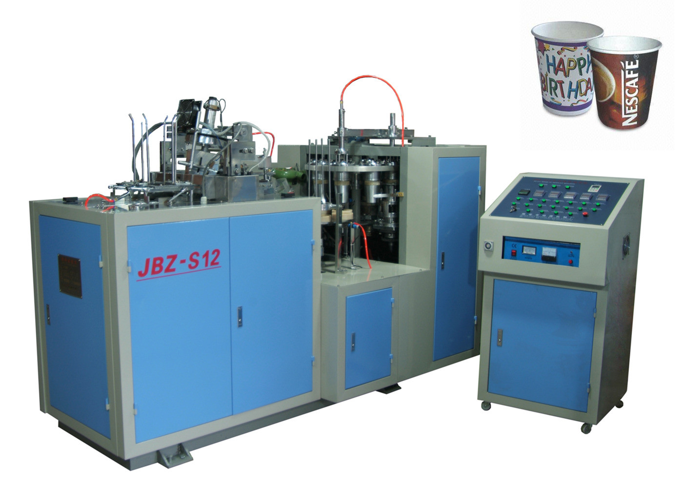 High Power Ultrasonic Automatic Paper Cup Machine